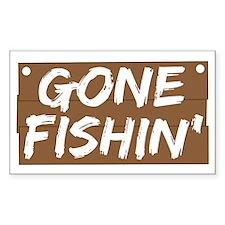 Gone Fishin' (Fishing) Decal