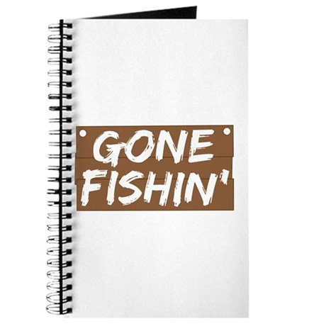 Gone Fishin' (Fishing) Journal