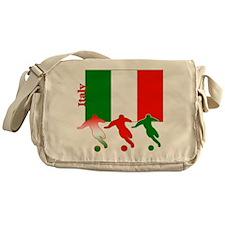 Italy Soccer Messenger Bag