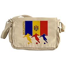 Moldova Soccer Messenger Bag