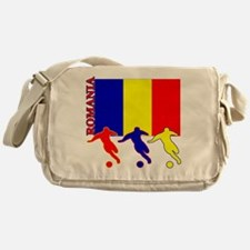 Romania Soccer Messenger Bag