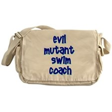 Evil Mutant Swim Coach Messenger Bag