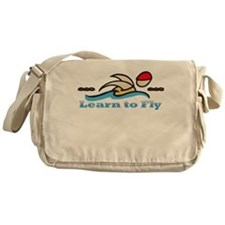 Learn to Fly Messenger Bag