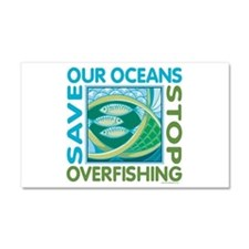Save Our Oceans Car Magnet 20 x 12