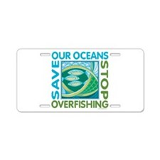 Save Our Oceans Aluminum License Plate