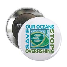 "Save Our Oceans 2.25"" Button"