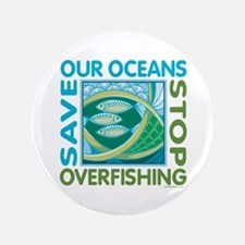 "Save Our Oceans 3.5"" Button"