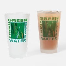 Water Conservation Drinking Glass