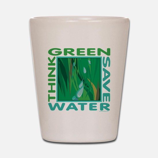 Water Conservation Shot Glass