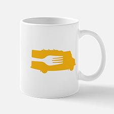 Food Truck: Side/Fork (Yellow) Mug