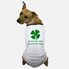 Personalize it - St. Patty's Day Dog T-Shirt