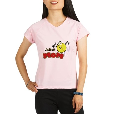 Softball Mom Performance Dry T-Shirt
