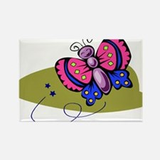 Butterfly104 Rectangle Magnet