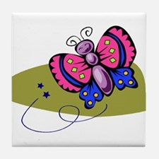 Butterfly104 Tile Coaster