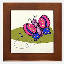 Butterfly104 Framed Tile