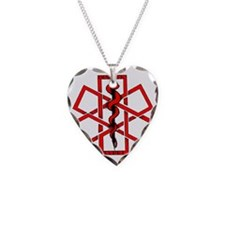 Type 1 Diabetic Necklace Heart Charm