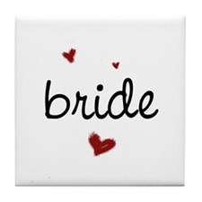 Bride200 Tile Coaster