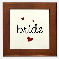 Bride200 Framed Tile