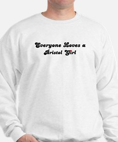 Loves Bristol Girl Sweatshirt