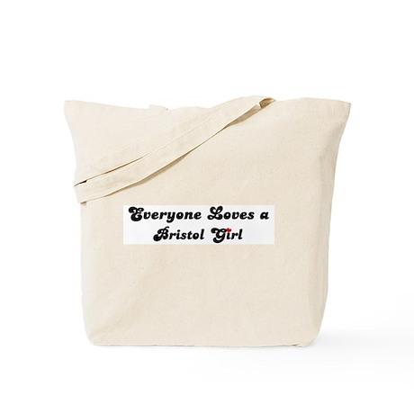 Loves Bristol Girl Tote Bag
