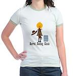 Barrel Racing Chick Jr. Ringer T-Shirt