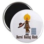 Barrel Racing Chick 2.25