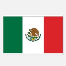 Mexican Flag Postcards (Package of 8)