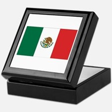 Mexican Flag Keepsake Box