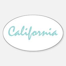 Blue California Decal