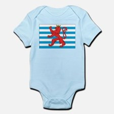Luxembourg Civil Ensign Infant Creeper