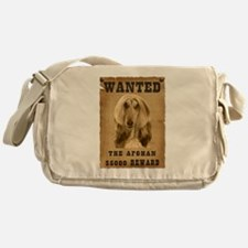 """Wanted"" Afghan Messenger Bag"