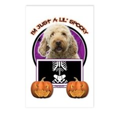 Just a Lil Spooky GoldenDoodle Postcards (Package