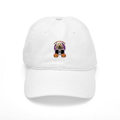 Just a Lil Spooky GoldenDoodle Cap