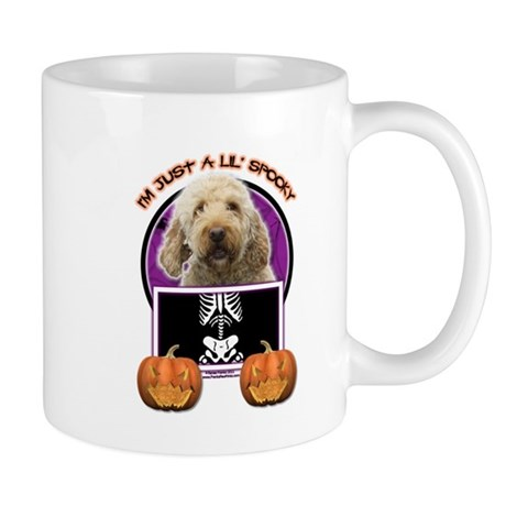 Just a Lil Spooky GoldenDoodle Mug