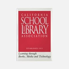 California School Library Rectangle Magnet (100)