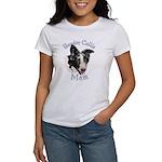 Border Collie Mom's Women's T-shirt