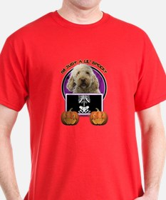 Just a Lil Spooky GoldenDoodle T-Shirt