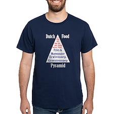 Dutch Food Pyramid T-Shirt