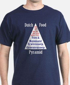 Dutch Food Pyramid T-Shirt