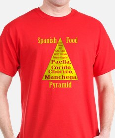 Spanish Food Pyramid T-Shirt