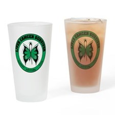 Liver Cancer Survivor Drinking Glass