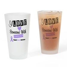 Cancer Support Drinking Glass
