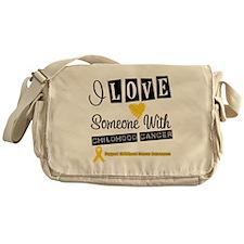 ChildhoodCancer Support Messenger Bag