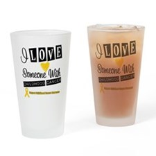ChildhoodCancer Support Drinking Glass