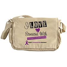 Leiomyosarcoma Support Messenger Bag