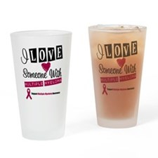 MultipleMyeloma Support Drinking Glass