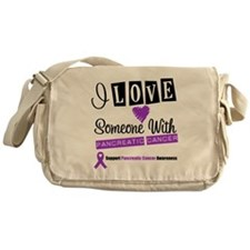 PancreaticCancer Support Messenger Bag
