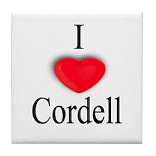 Cordell Tile Coaster