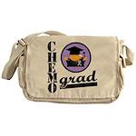 Chemo Grad Cancer Messenger Bag