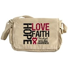 Multiple Myeloma Faith Messenger Bag